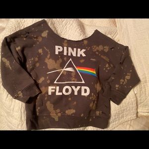 Other - Pink Floyd toddler distressed sweatshirt 3-4T